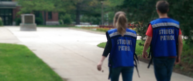STOP students on patrol
